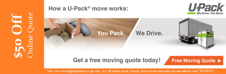 Upack Quote Upack Moving  How To Move With A Portable Storage Coupon .