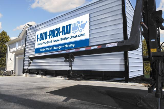"PACK-RAT® Company Overview. PACK-RAT is a member of the ""you pack, they drive"" gang. It offers clients a portable storage container to snugly fit all their stuff. Clients can then use the container for just storage (on their own property or in a facility) or have a ."
